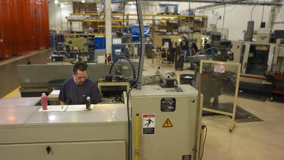 Amatrol, which makes machines used in schools and training centers to advance technical education, is one of the partner businesses in Doss High's planned manufacturing careers program.