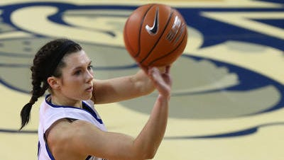 Drake's Kyndal Clark returns for the Bulldogs this season. She was an all-MVC performer.