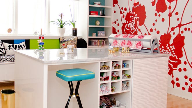California Closets Craft Room