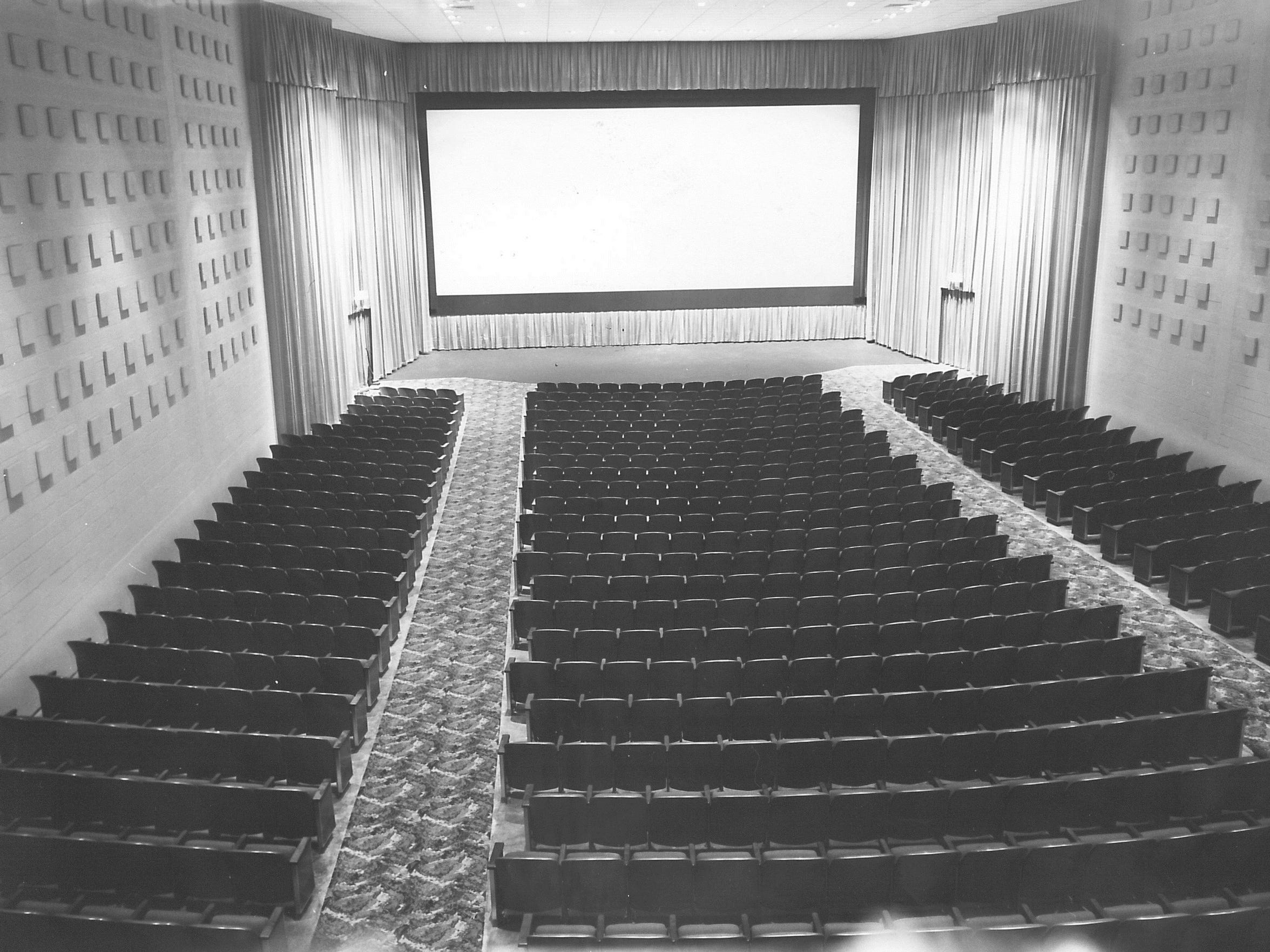 The Westwood Theatre opened in 1966  with a single auditorium that seated almost 1,000.