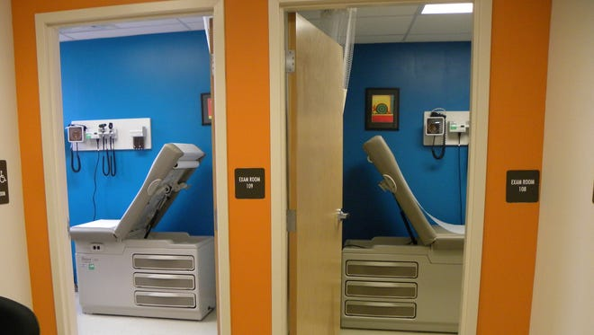 The Clifton Avenue Grade School in Lakewood has been retrofitted to include a small clinic operated by Ocean Health Initiatives. Students can be treated with the parent's permission even if they are not there.