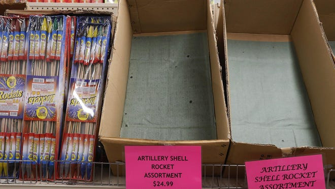 Fireworks sales are skyrocketing this year.