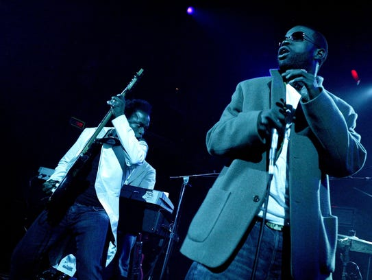 The Roots, 2004 in New York City.