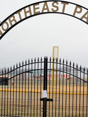 Park district officials say they are taking measures to decrease criminal activity being reported at Northeast Park, including shutting its gates at night.