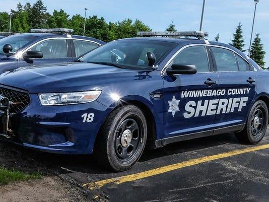 Winnebago County Sheriff vehicle
