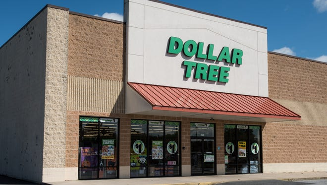 An exterior view of the Dollar Tree off Tilghman Road on Wednesday, Sept. 20, 2017.