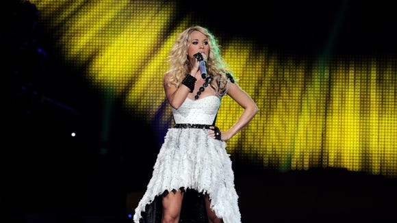 Carrie Underwood is one of the headliners for June's newly-announced Big Barrel Country Music Festival in Dover.