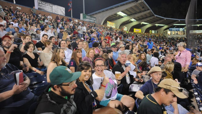 The Asheville Tourists host one last Thirsty Thursday discount beer night this year at McCormick Field ballpark.