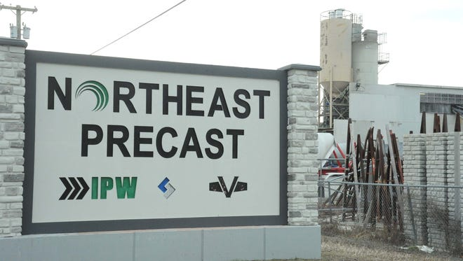 Northeast Precast LLC at 92 Reese Road opened in Millville in December 2003, when it was launched as Superior Walls of South Jersey.