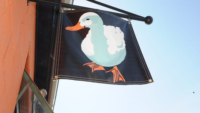The White Duck Taco Shop is ready to fly its flag in Arden.