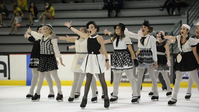Harmony Theatre Company Junior Team hits the ice.