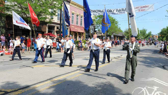 Veterans' groups always play a big role in the Milford Memorial Day Parade.