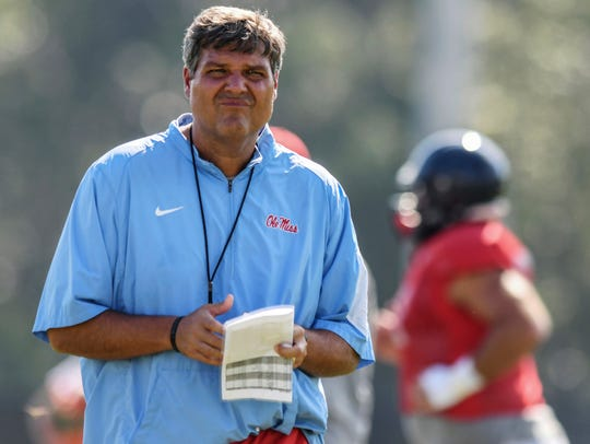 Matt Luke compiled a 6-6 record in 2017 and Ole Miss