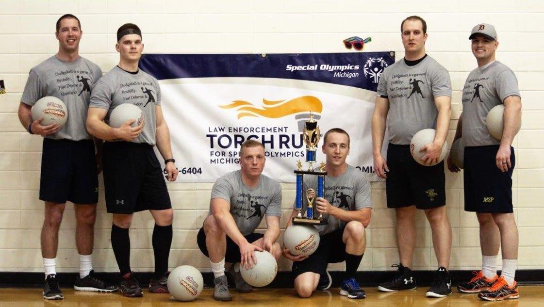 Dodgeball event raises money for Special Olympics