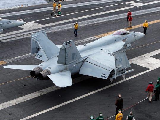 U.S. Navy Hornet