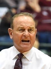 Mississippi State University head coach Vic Schaefer