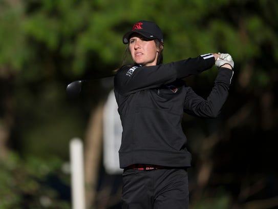 Emily Mills has been an ace for Rutgers women's golf
