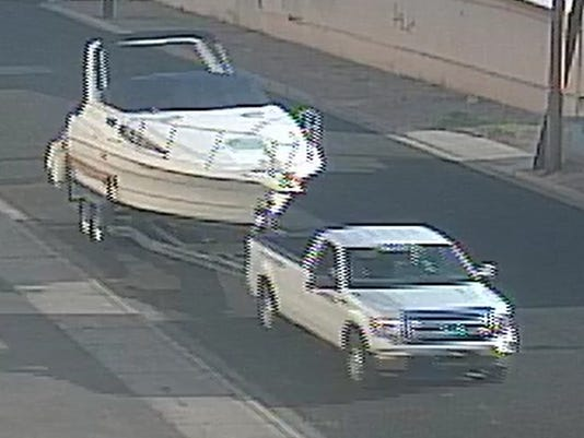 2014-1760 - Boat Theft - Boat and Suspect Truck