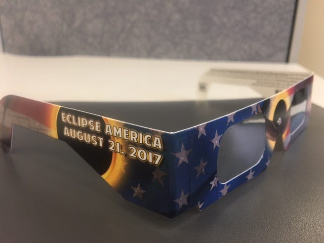 Eclipse glasses giveaway