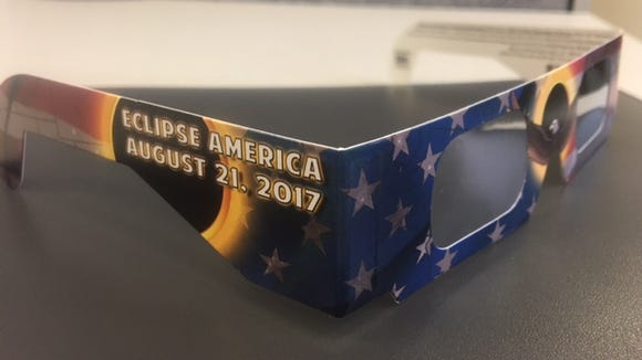 Get a free pair of solar eclipse glasses Aug. 12 at the West Asheville Library.