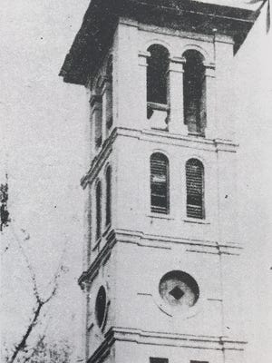 The Furman Bell Tower was symbolic of the early days of the university