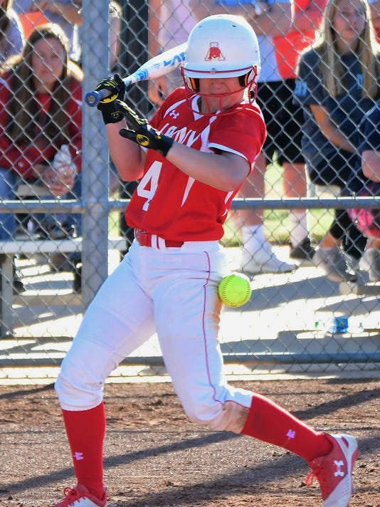 Albany duo, Ira\'s Hall nab first-team all-state softball honors
