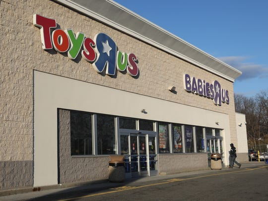 "The exterior of the Toys ""R"" Us store at 1000 Central"