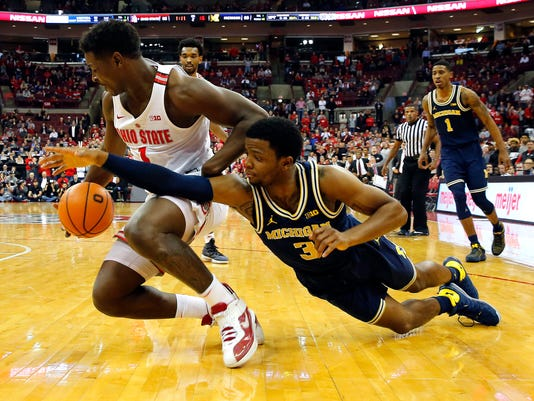 USP NCAA BASKETBALL: MICHIGAN AT OHIO STATE S BKC OHS MIC USA OH