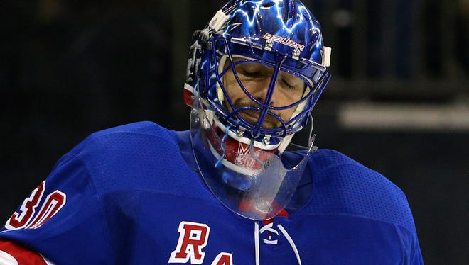 Henrik Lundqvist's struggles that date to last season continue as the Rangers are off to a slow start.