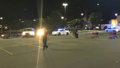 Police are investigating after a shooting Monday night