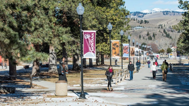Memorial Row at the University of Montana.