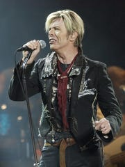 Singer/songwriter David Bowie performs in 2003 at Madison Square Garden. Bowie died Jan. 10.