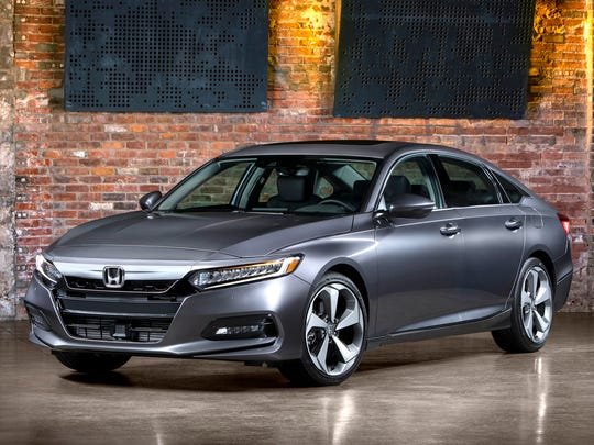 The 2018 Honda Accord is one of three finalists for North American Car of the Year.
