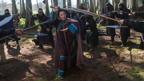 """Michelle Yeoh is back in """"Crouching Tiger, Hidden Dragon:"""