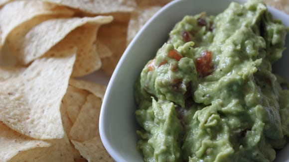 """Southern California Guacamole from """"Back to the Kitchen."""""""