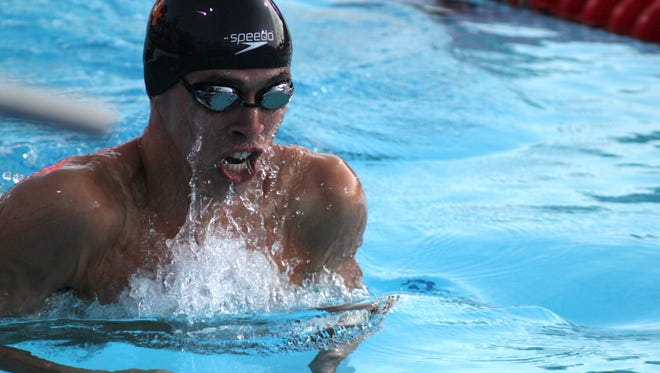 El Pasoan Will Licon has a good shot of making the U.S. Olympic Team later this month.