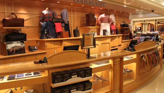 Price options begin at $125 for a shirt at Garmany.