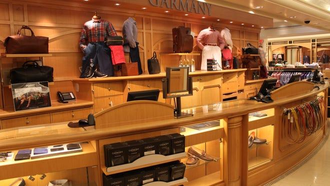 Price options begin at $125 for a shirt at Garmany.