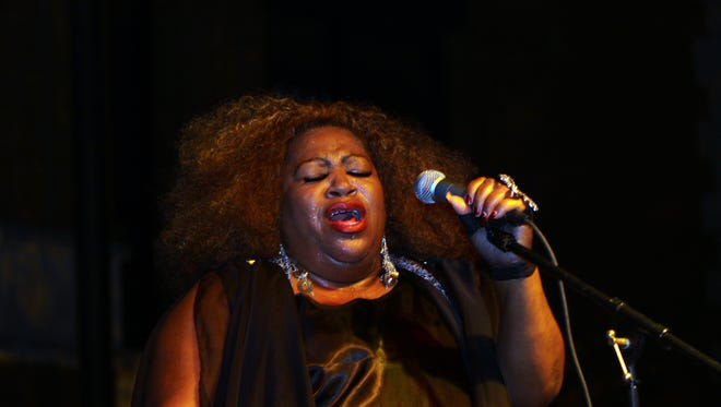 Tina Brown returns to Jazz on the Lawn this Saturday, where she will bring the blues back to the Beachaven Winery stage..