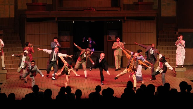 """Kentucky Shakespeare performs """"The Two Gentlemen of Verona"""" in 2016."""
