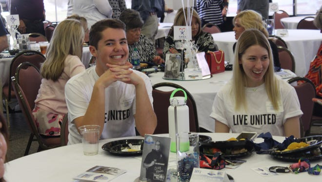 Carlsbad residents, volunteers and business mingle and dine at United Way of Carlsbad and South Eddy County's annual Victory Luncheon, March 27, 2018 at the Pecos River Village Conference Center.