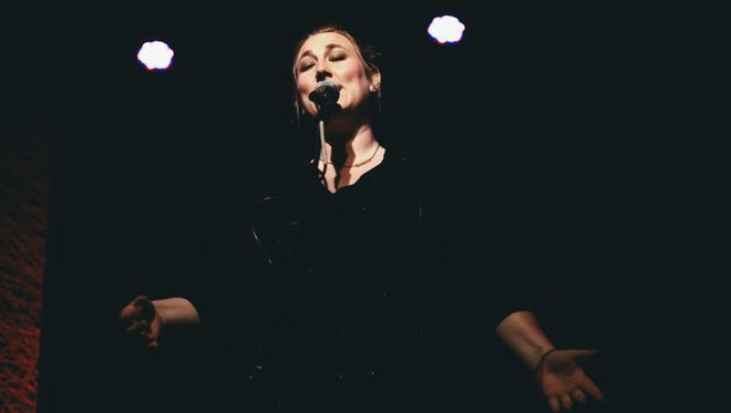 Jeanette Hickman in performance