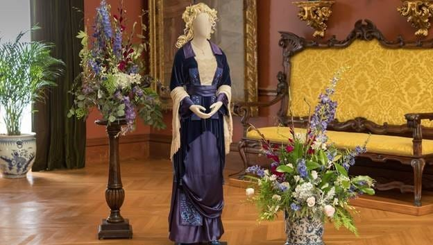 """An outfit worn by Kate Winslet in """"Titanic"""" will be on display in Biltmore House as a preview of the upcoming exhibit, """"Glamour on Board: Fashion from Titanic the Movie."""" The exhibit opens Feb. 9 and will run through May 13."""