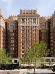The Skirvin Hilton in Oklahoma City provided a safe