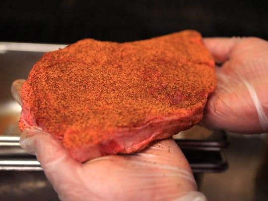 LongHorn Steakhouse Grill Master Jesse Montalva has