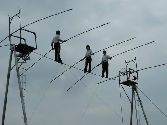 The Wallenda family. photo courtesy of Jubilee Christian Church