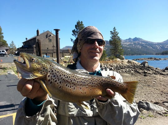Fishing report for oct 15 for Caples lake fishing report