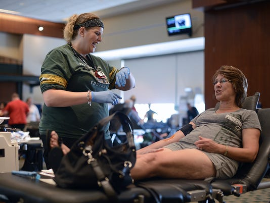 GPG Blood Drive at Lambeau Field