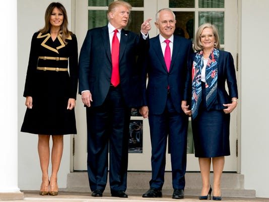 AP TRUMP US AUSTRALIA A USA DC