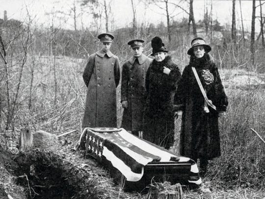 This 1926 photo provided by the Daughters of the American